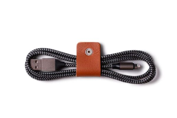 Leather Cable Ties Pack Organiser | Harber London