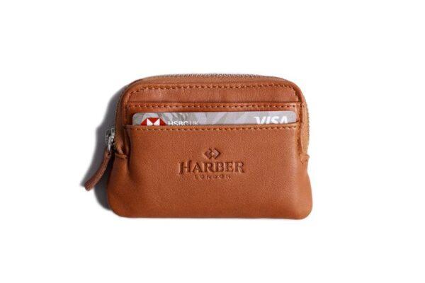Leather Zip Pouch Wallet | Harber London