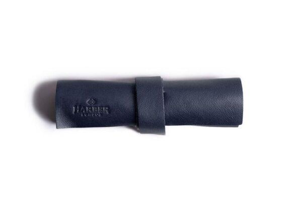 Mini Zip Leather Rollup Cord & Tools Wrap | Harber London