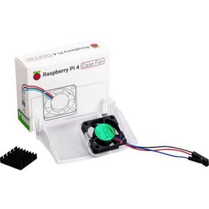 RB-Case-Fan Aktiver Lüfter Passend für (Entwicklungskits): Raspberry Pi Weiß