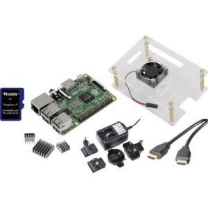 Renkforce Class-Room-Set 5x Raspberry Pi® 3 B 1 GB 4 x 1.2 GHz inkl. Gehäuse, inkl. Netzteil, inkl. HDMI™-Kabel, inkl.