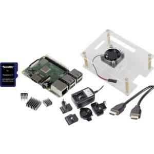 Renkforce Class-Room-Set 5x Raspberry Pi® 3 B+ 1 GB 4 x 1.4 GHz inkl. Gehäuse, inkl. Netzteil, inkl. HDMI™-Kabel, inkl.
