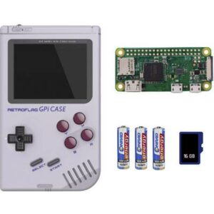 Retro Konsole 16 GB Grau