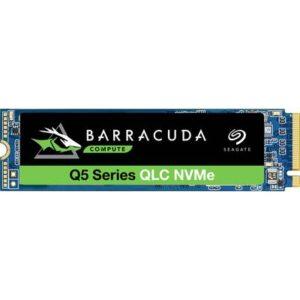 Seagate BarraCuda® Q5 SSD 1 TB Interne M.2 PCIe NVMe SSD 2280 PCIe NVMe 3.0 x4 Retail ZP1000CV3A001