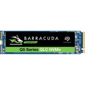 Seagate BarraCuda® Q5 SSD 500 GB Interne M.2 PCIe NVMe SSD 2280 PCIe NVMe 3.0 x4 Retail ZP500CV3A001