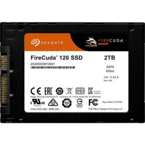Seagate FireCuda® 2 TB Interne SATA SSD 6.35 cm (2.5 Zoll) SAS 6 Gb/s Retail ZA2000GM1A001