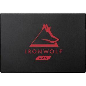 Seagate IronWolf® 125 500 GB Interne SATA SSD 6.35 cm (2.5 Zoll) SATA 6 Gb/s Retail ZA500NM1A002