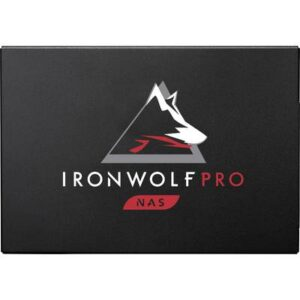 Seagate IronWolf® Pro 125 3.84 TB Interne SATA SSD 6.35 cm (2.5 Zoll) SATA 6 Gb/s Retail ZA3840NX1A001
