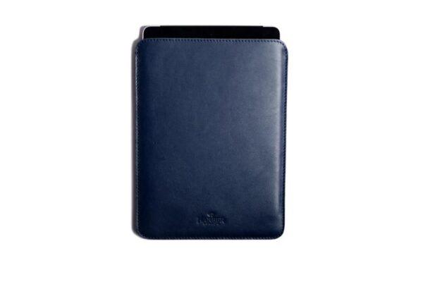 Slim Leather iPad and Kindle Sleeve Case   Harber London