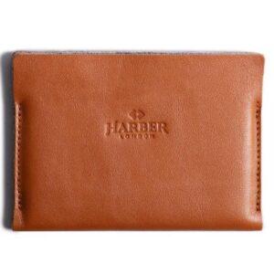 Super Slim Leather Passport Wallet Horizon | Harber Lodon