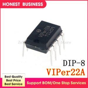 20PCS-50PCS/lot VIPER22A VIPER22 AP8022 DIP-8 AC/DC Converters Low OFF-Line S In Stock