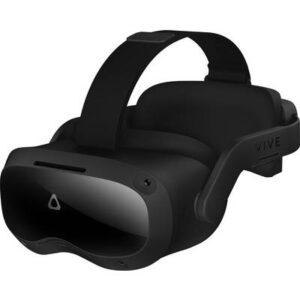 HTC Focus 3 Schwarz Virtual Reality Brille inkl. Bewegungssensoren, mit integriertem Soundsystem
