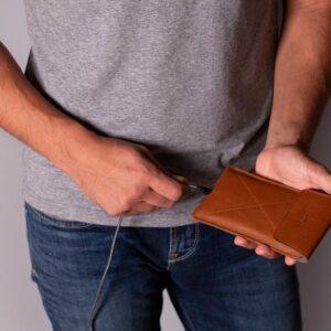 Magnetic Envelope Sleeve For iPhone | Harber London