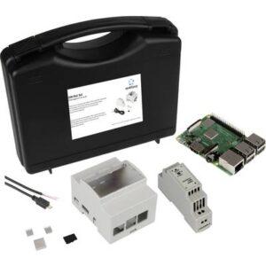 Renkforce DIN-Rail Set Raspberry Pi® 3 B+ 1 GB 4 x 1.4 GHz inkl. Hutschienengehäuse, inkl. Hutschienennetzteil, inkl.