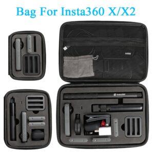 Storage Case for Insta360 ONE X X2 Carrying Bag Insta 360 Panoramic Camera Handbag Accessory Box(Large Medium Small)