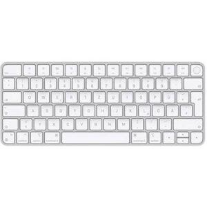 Apple Magic Keyboard mit Touch ID Bluetooth® Tastatur Weiß Wiederaufladbar