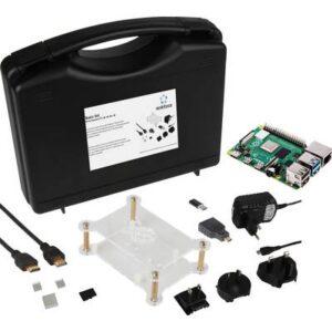 Renkforce Basic Set Raspberry Pi® 4 B 8 GB 4 x 1.5 GHz inkl. Gehäuse, inkl. Netzteil, inkl. HDMI™-Kabel, inkl. Noobs OS,