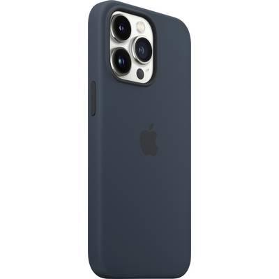 Apple iPhone 13 Pro Silikon Case mit MagSafe Dunkelblau Backcover Apple