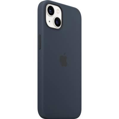 Apple iPhone 13 Silikon Case mit MagSafe Dunkelblau Backcover Apple