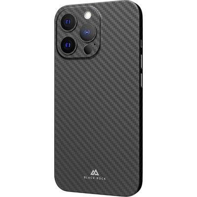 Black Rock Ultra Thin Iced Cover Apple iPhone 13 Pro Schwarz, Carbon