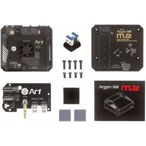 Gehäuse für Raspberry Pi 4 Argon One M.2