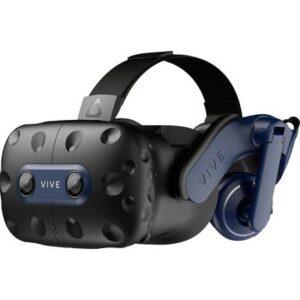 HTC Vive Pro 2 Schwarz, Blau Virtual Reality Brille inkl. Controller, mit integriertem Soundsystem