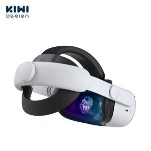 KIWI design For Oculus Quest 2 Elite Adjustable Head Strap Increase Supporting Improve Comfort-Virtual For Quest2 VR Accessories