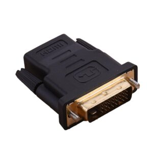 DVI 24+1 To HDMI-compatible Gold Plated Plug DVI 24+1 Male To HDMI-compatible Video Converter For PC HDTV Projector