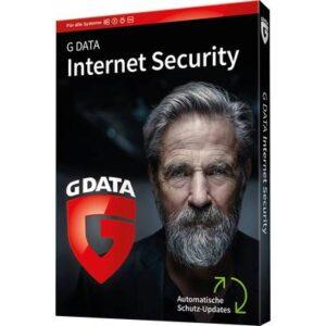 G-Data Internet Security 2020 Vollversion, 1 Lizenz Windows, Mac, Android, iOS Antivirus, Sicherheits-Software