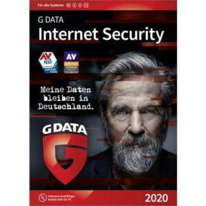 G-Data Internet Security 2020 Vollversion, 3 Lizenzen Windows, Mac, Android, iOS Antivirus, Sicherheits-Software