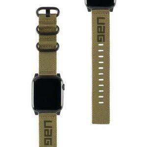 uag Nato Armband 42 mm, 44 mm Olive-Grün